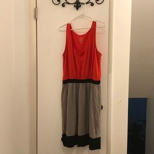 Old Navy Colorblock dress